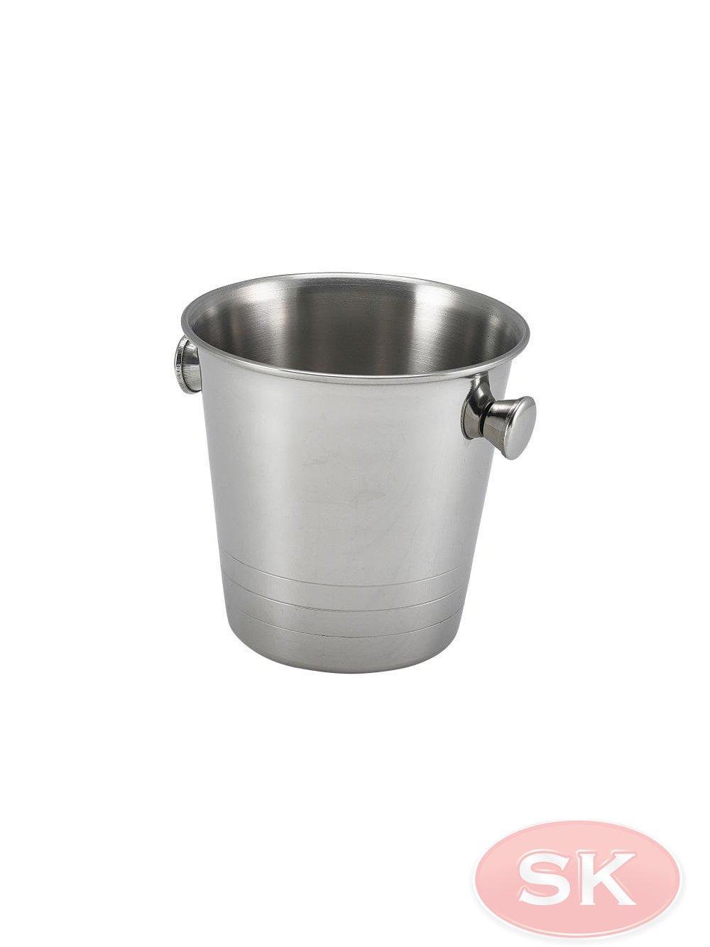 Genware Mini Stainless Steel Ice Bucket 10cm Barware From Sylvester Keal Uk